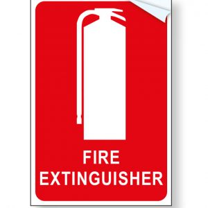 fire extinguisher location signage